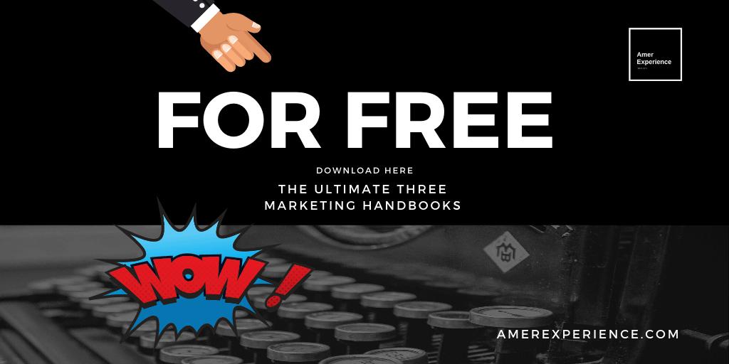 Free Download Three Best Marketing Handbooks Step-by-step instruction