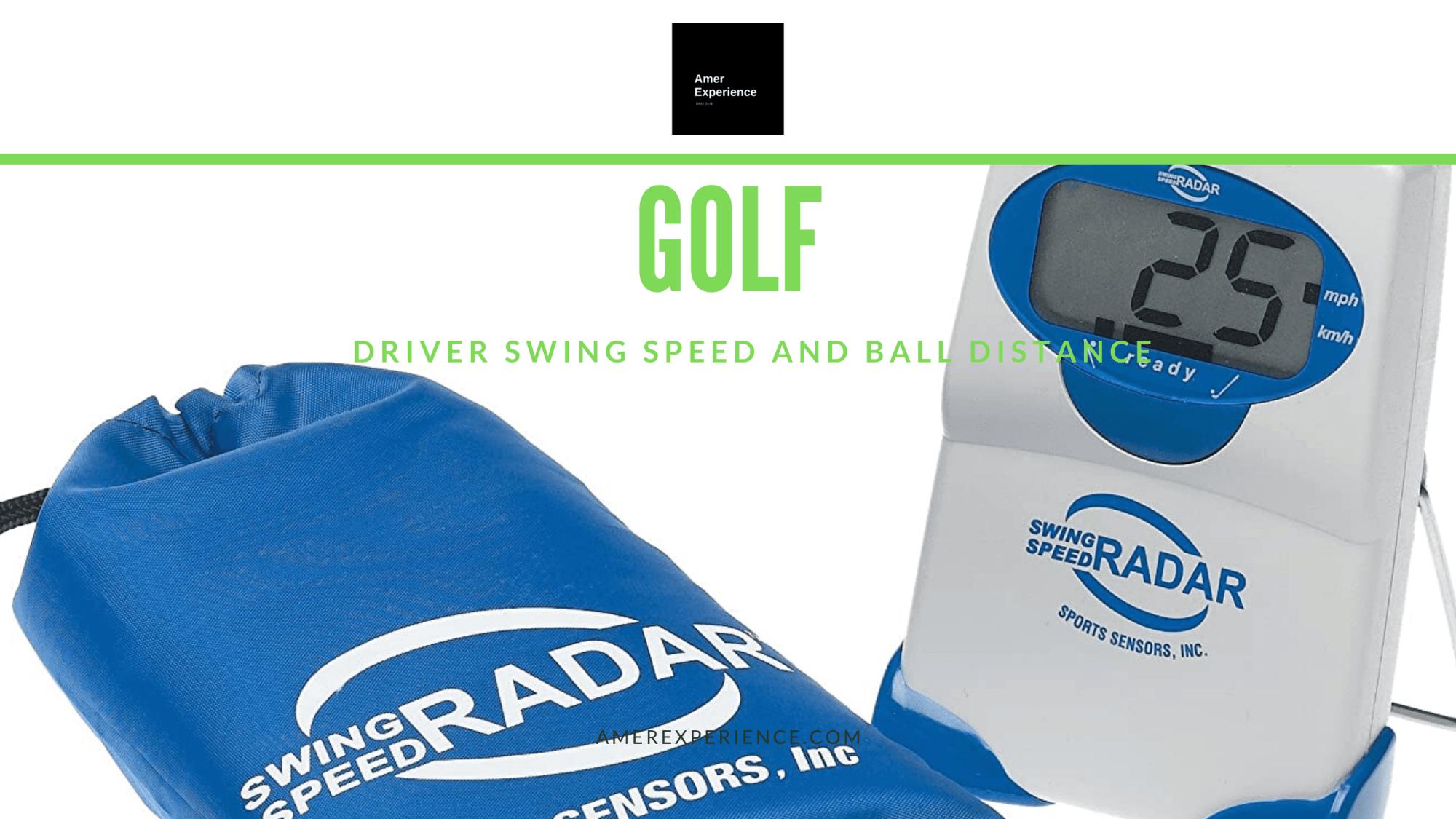 Golf Swing Speed Radar