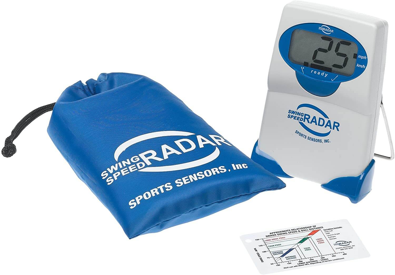 golf speed radar, control of swing speed