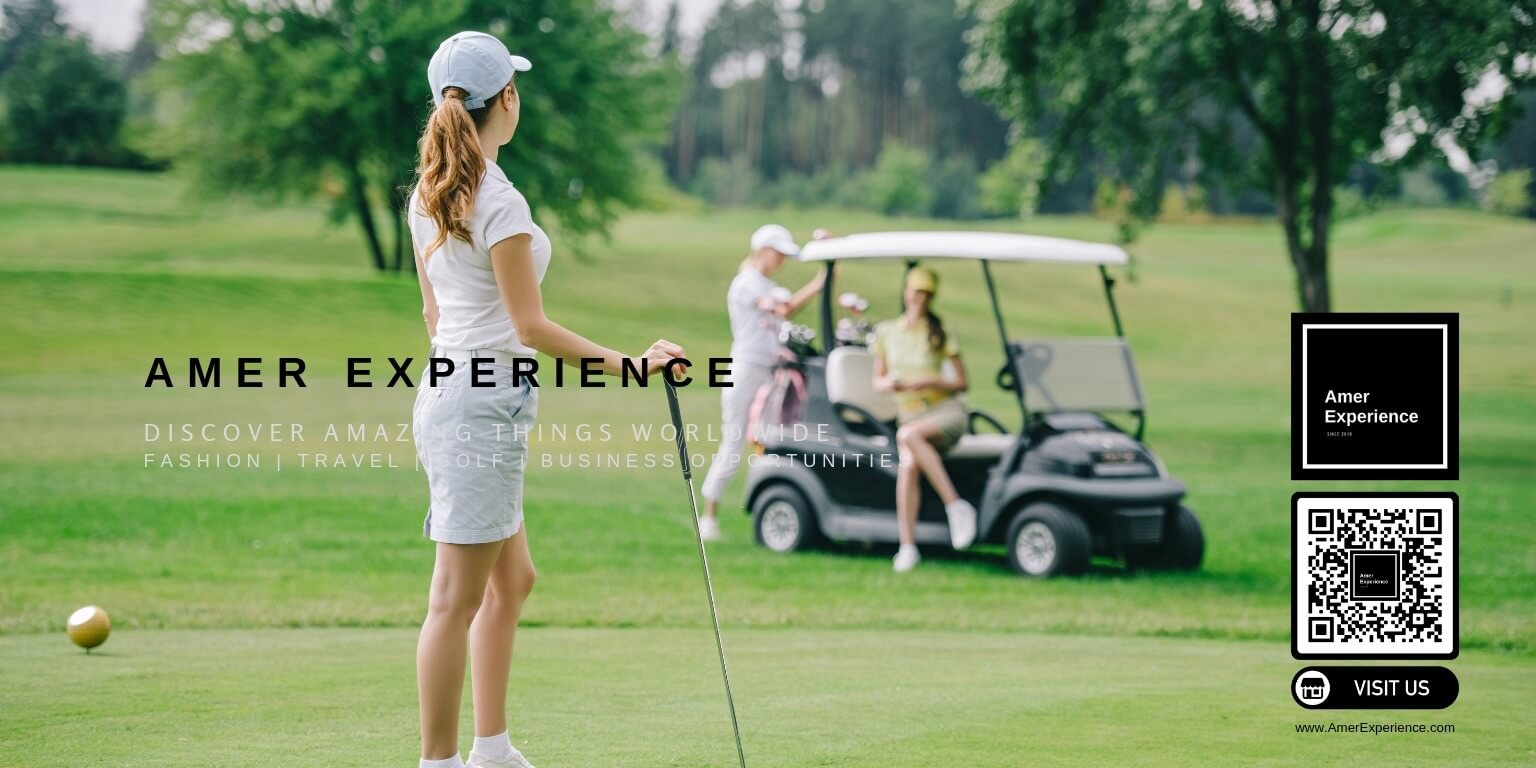 Womens profesional golf outfits