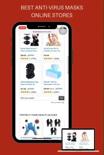 Best Antivirus Masks Online Stores
