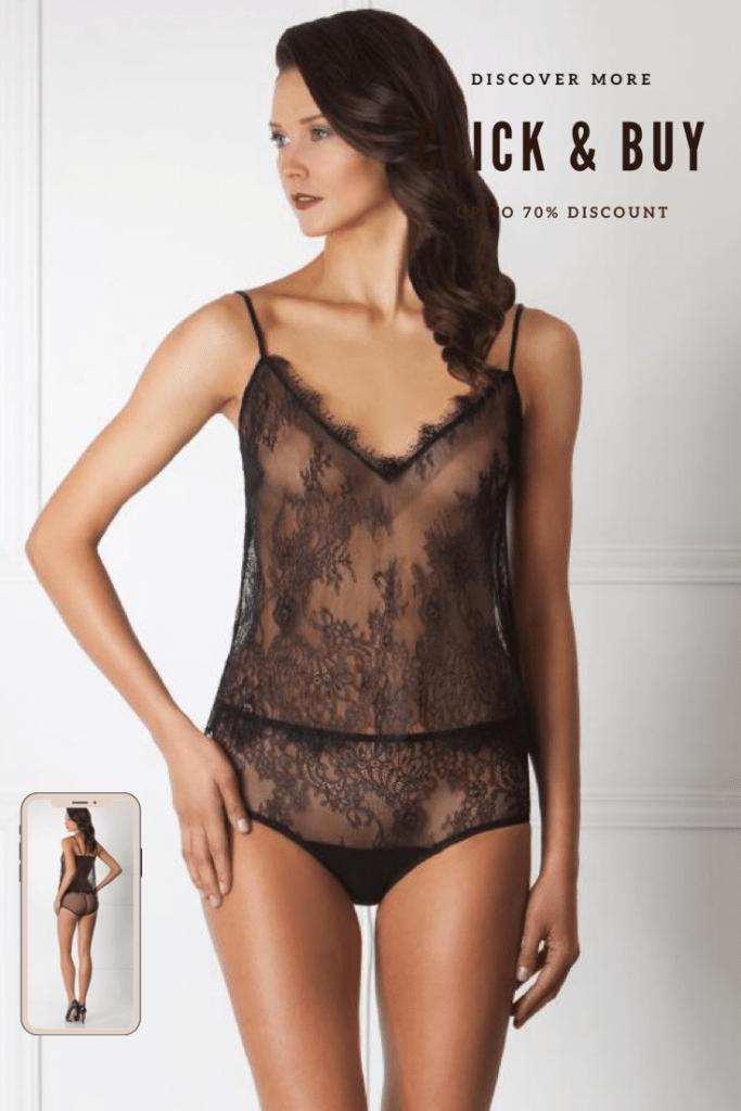 Lavinia Sexy Design Transparent Lencería