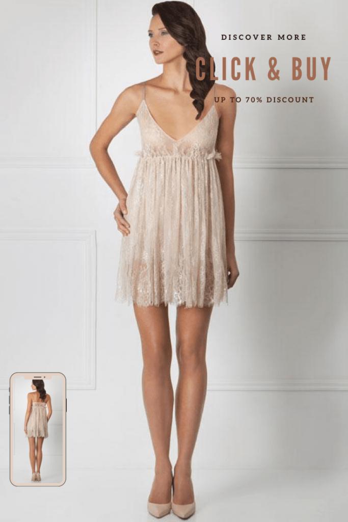 Lavinia Sexy Lingerie Design Lencería Babydoll Style Short