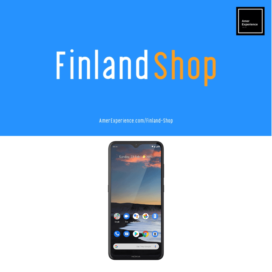 """Nokia 5.3 Fully Unlocked Smartphone with 6.55"""" HD+ Screen"""