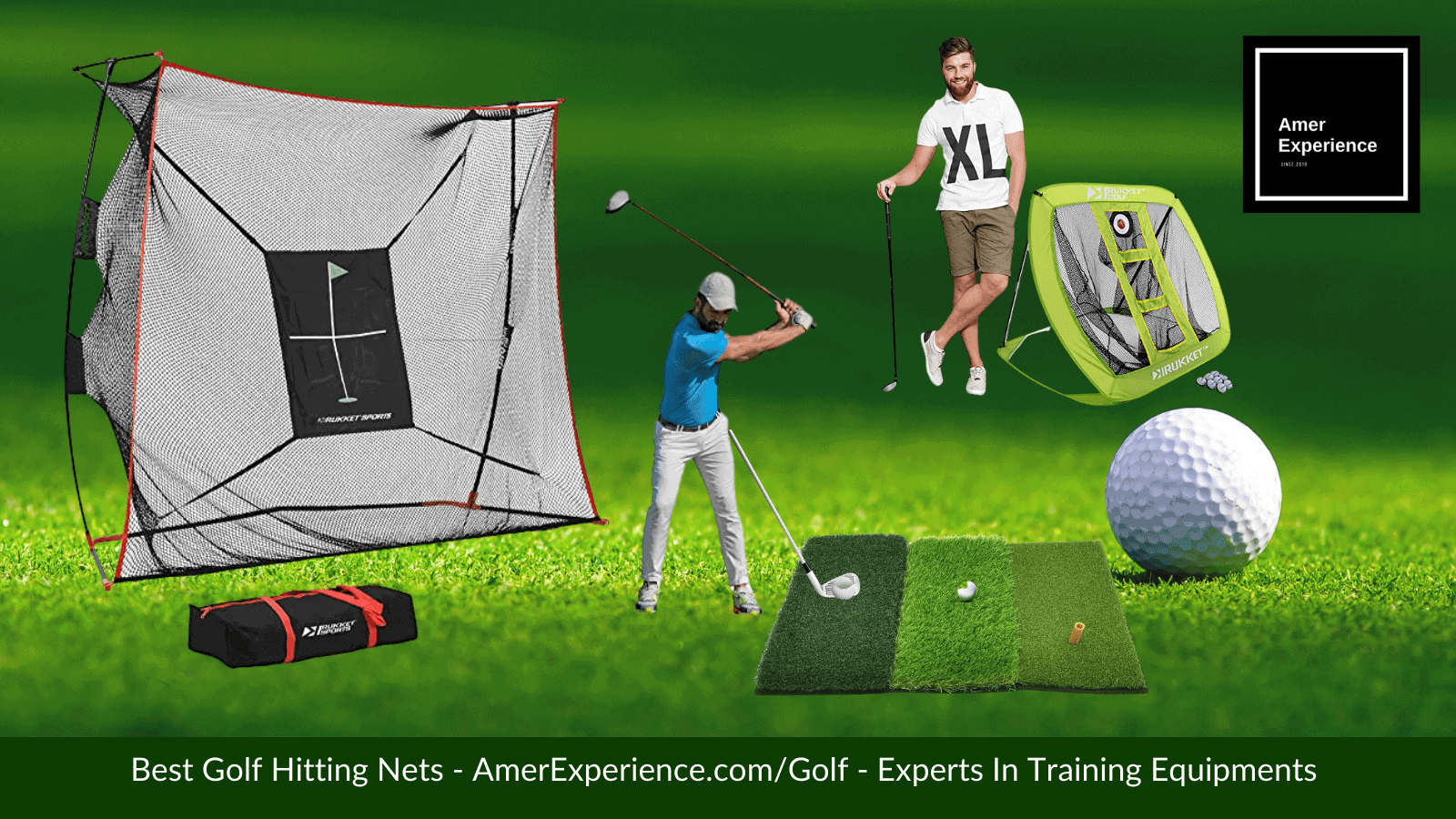 Best Golf Hitting Nets AmerExperience.com Experts in Training Equipments