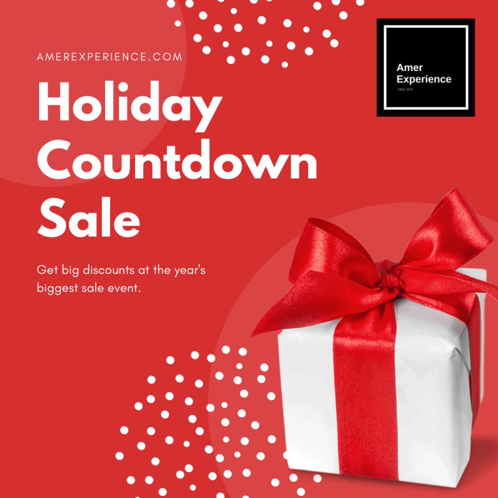 Big Holiday Countdown Sale - Christmas Sales Onllne