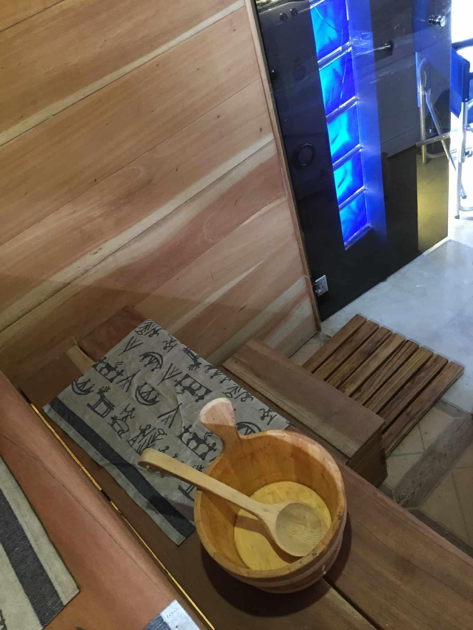 Suomalainen sauna ulkomailla