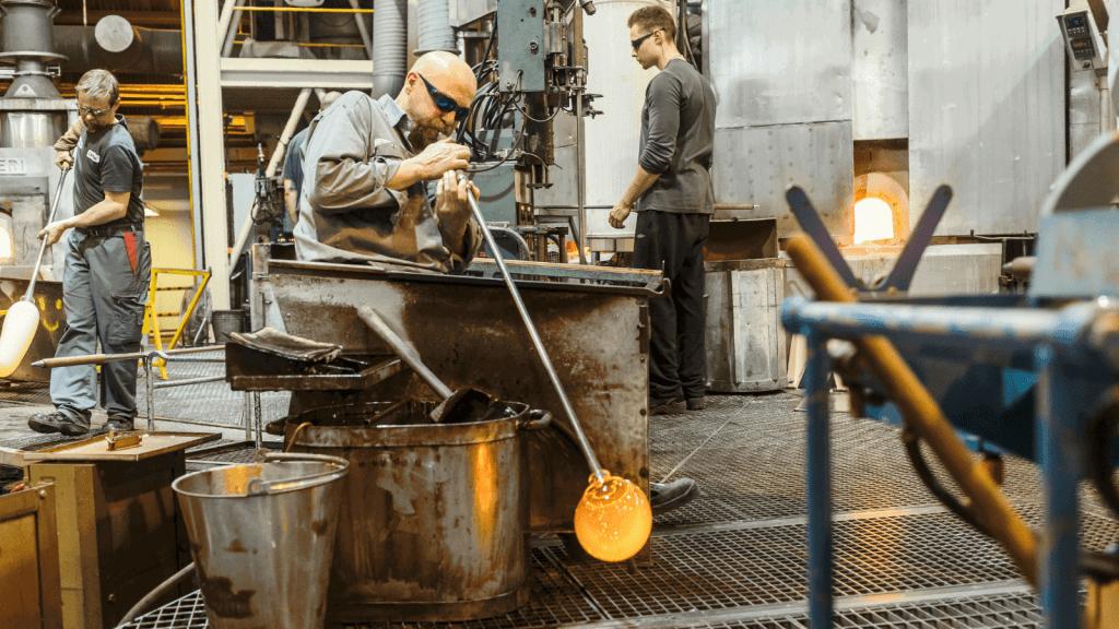 IITTALA 20140507 Iittalan lasitehdas, Iittala Glas Manufacturing Finland Shop Online