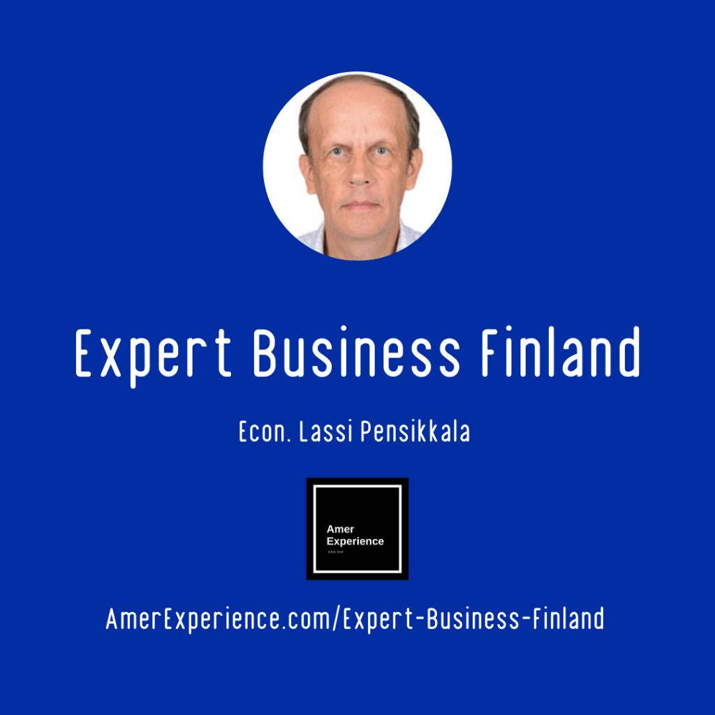 Expert Business Finland Econ Lassi Pensikkala