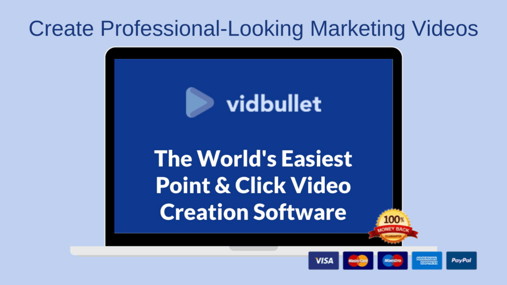 1 vidbullet worlds easiest video software