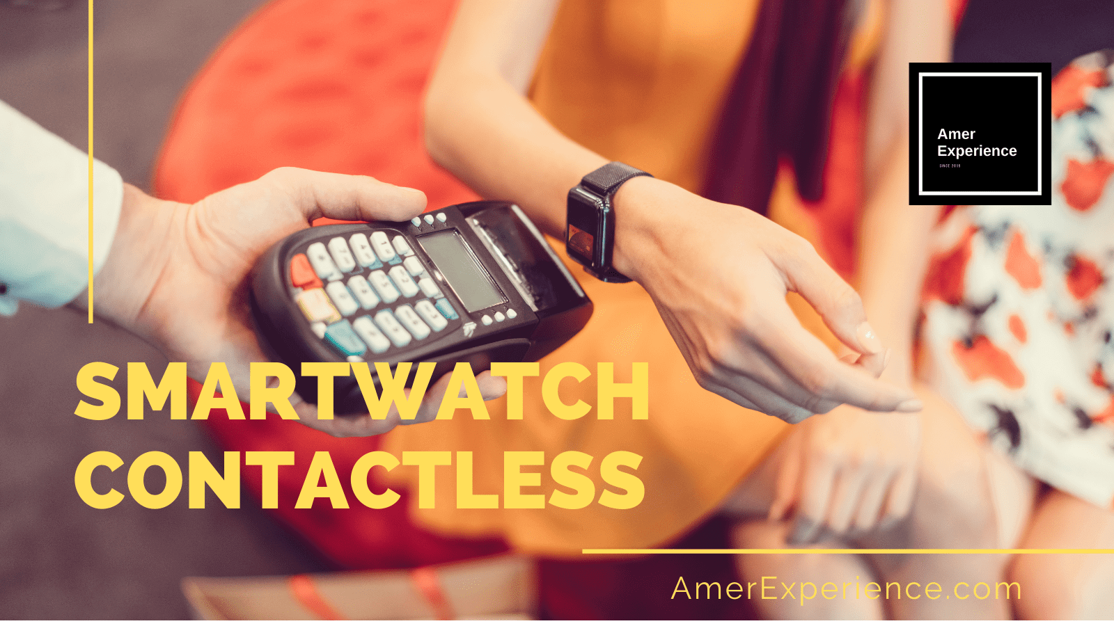 Smartwatch Contactless Tecnologia