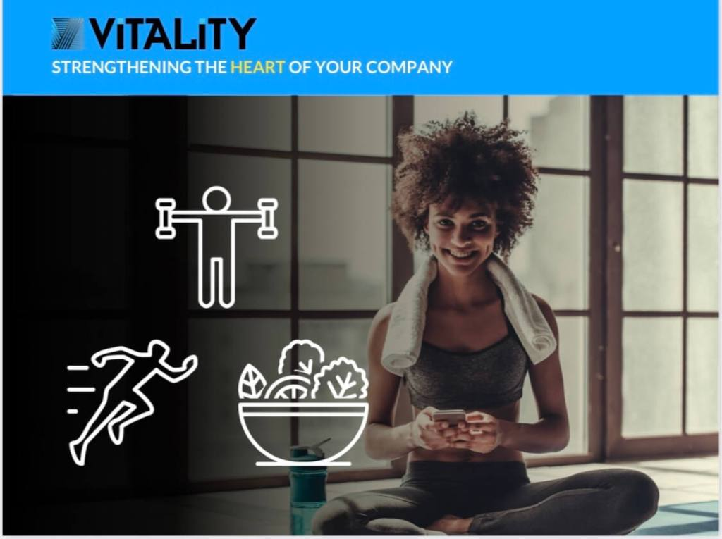 We recommend Vitality - Strengthening The Heart Of Your Company