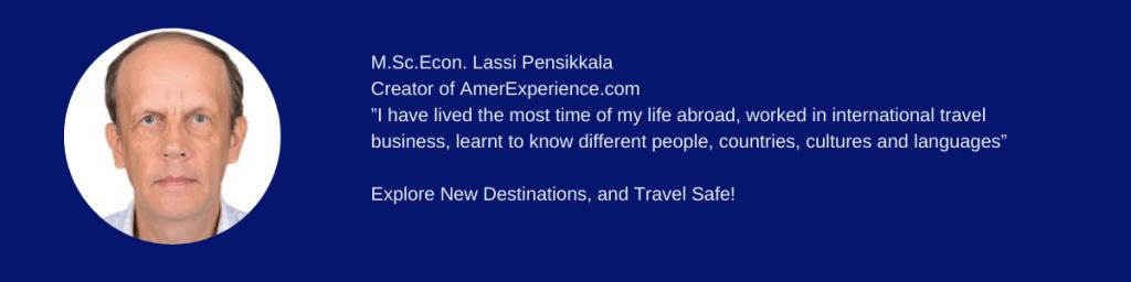 International Travel Business Expert Lassi Pensikkala