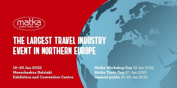La Feria Nórdica de Viajes Matka es el mayor evento en el norte de Europa para el mercado de los países nórdicos, la región Báltica y Rusia