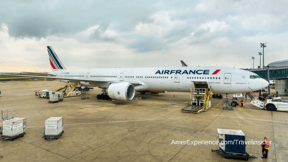 Airfrance focus on leisure travel