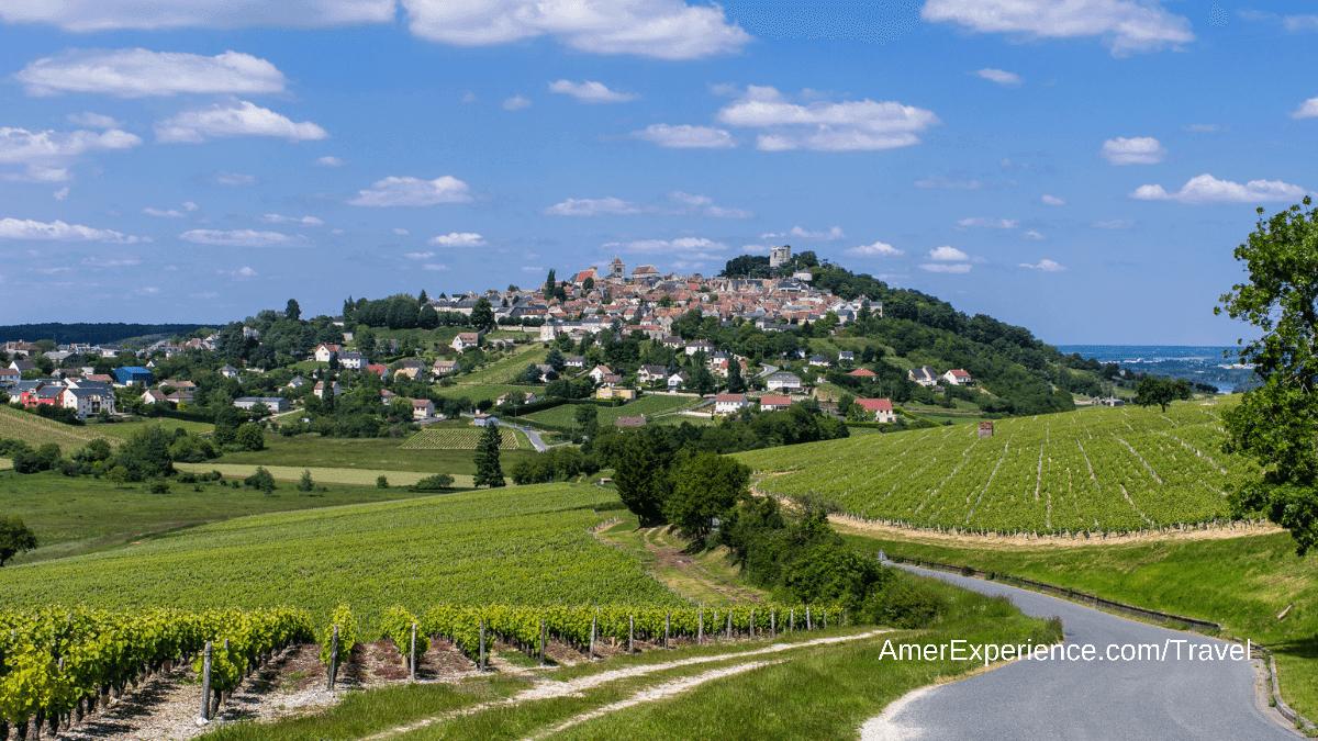 Sancerre, una pequeña población del Valle del Loira, popular por sus castillos y vinos