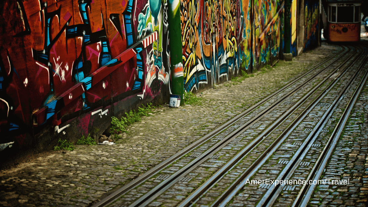 Art in Lisbon: You'll find walls of tiles, artistic graffiti and a gallery beloved by Madonna