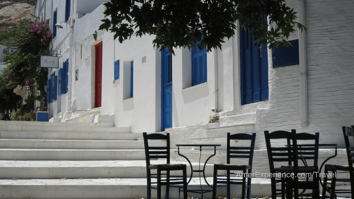 Love Greek food and want to taste the cream of the crop? Head to the island of Tinos