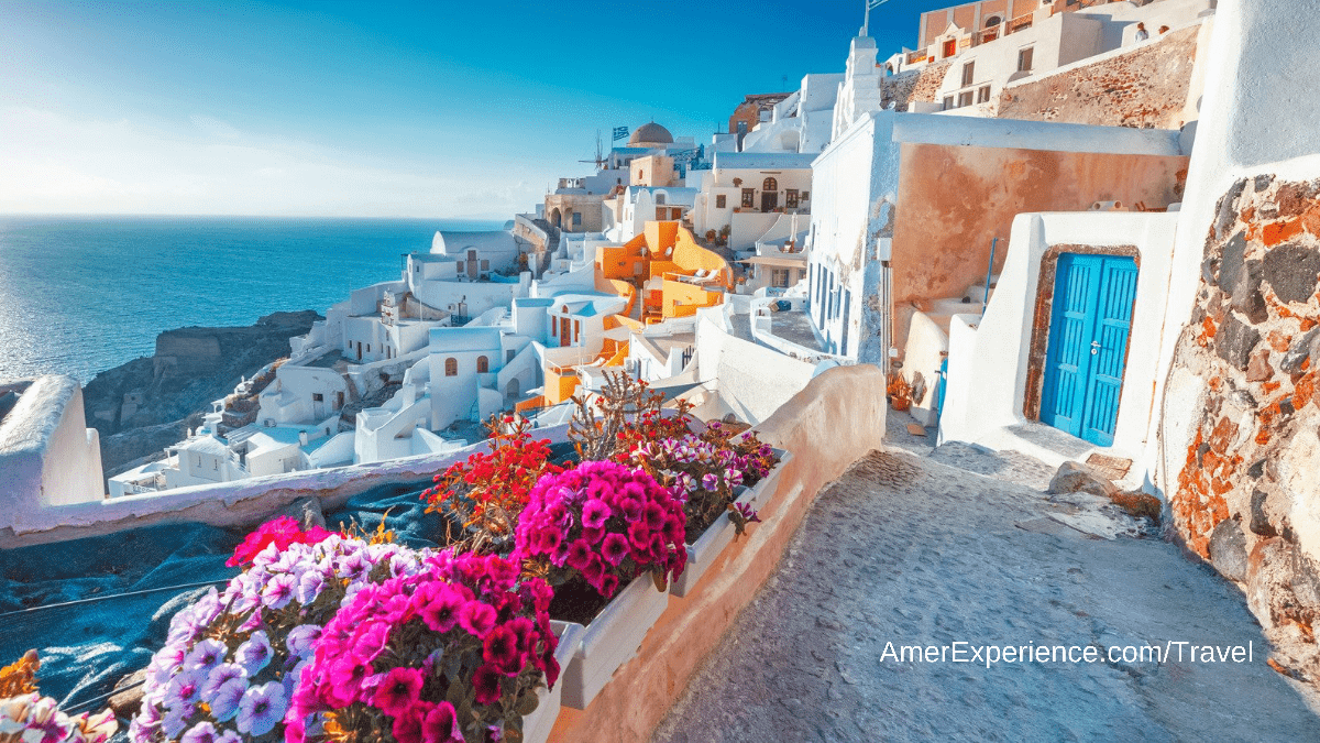 Social distance in scenic Santorini with a luxury stay at Mystique