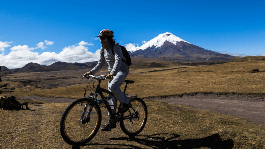 Ecuador bicycle tours where Richard Carapaz live and trainee