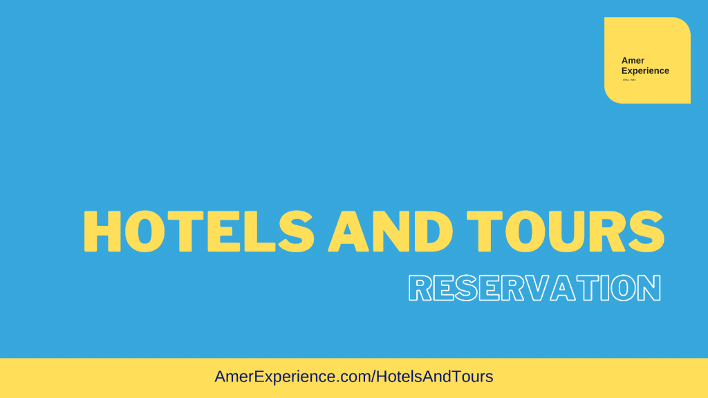Hotels and Tours Reservation