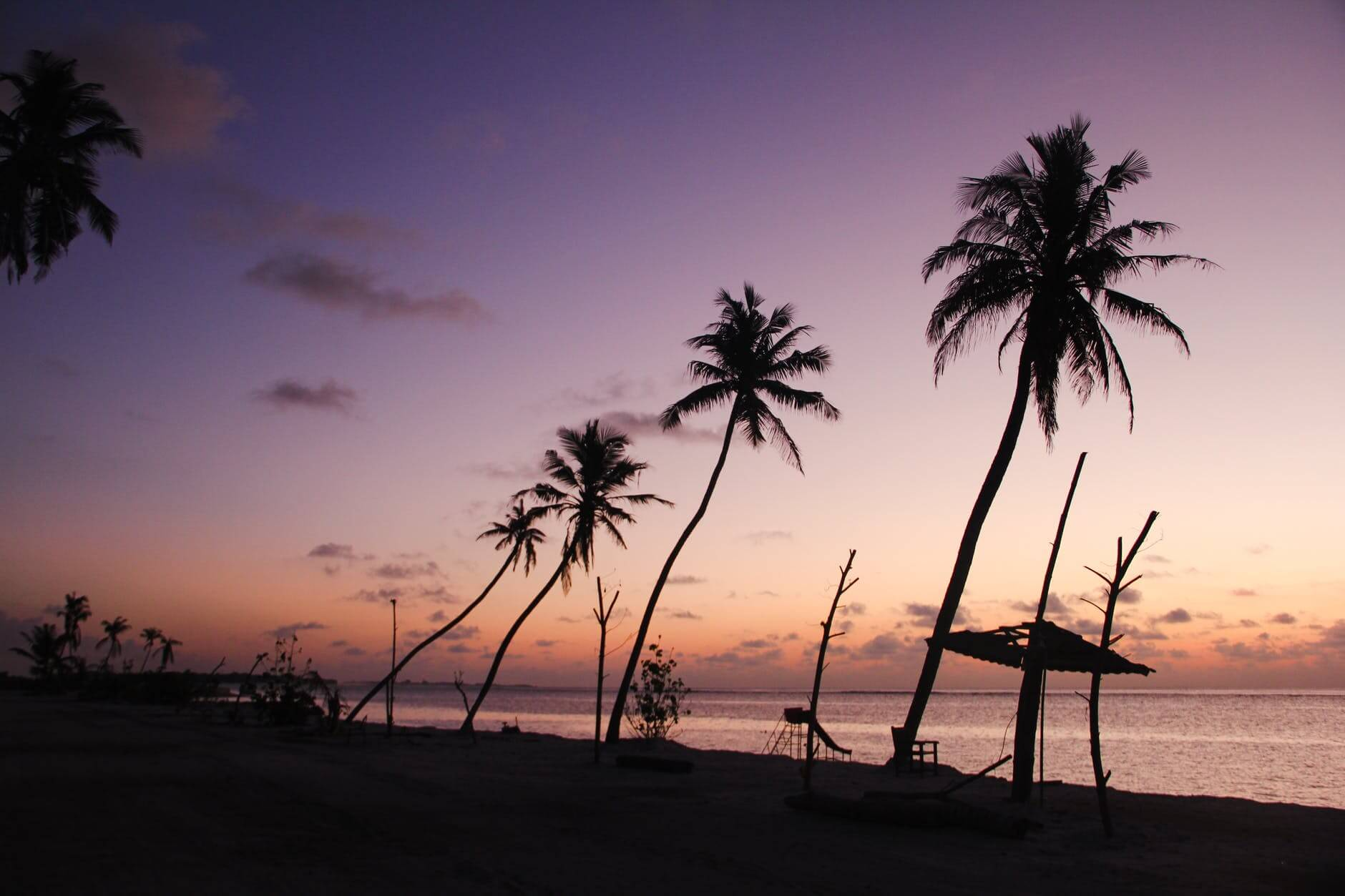 sea dawn landscape sunset
