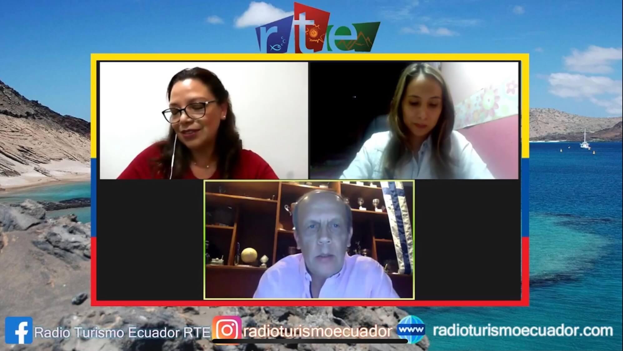 RTE Radio Turismo Ecuador Entrevista Lassi Pensikkala