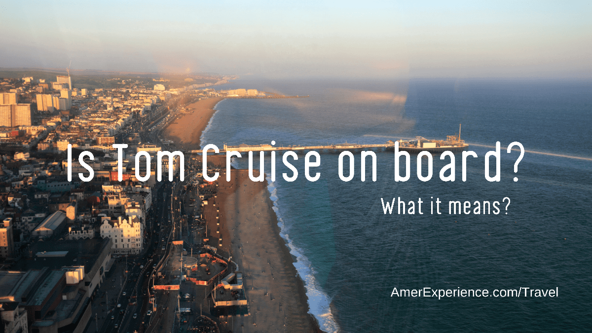 Is Tom Cruise on board?