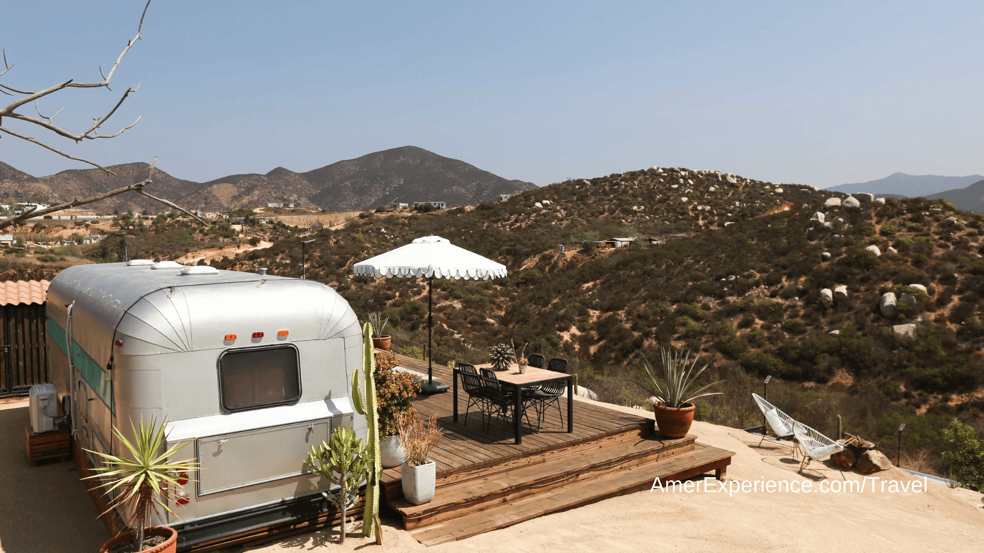 Living the stream: glamping in an American Airstream trailer … in Somerset