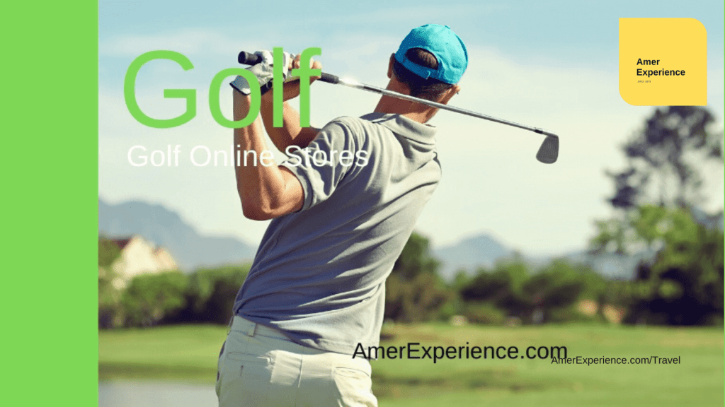 Golf online lessons and golf gear