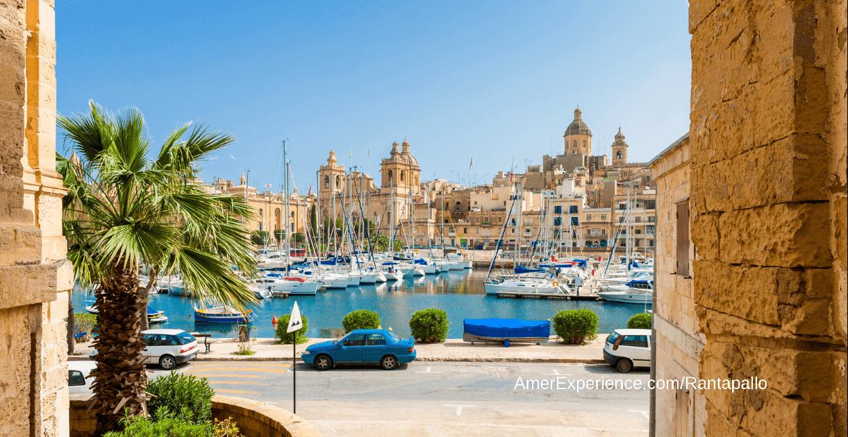 Malta on maailman suosituimpia matkakohteita