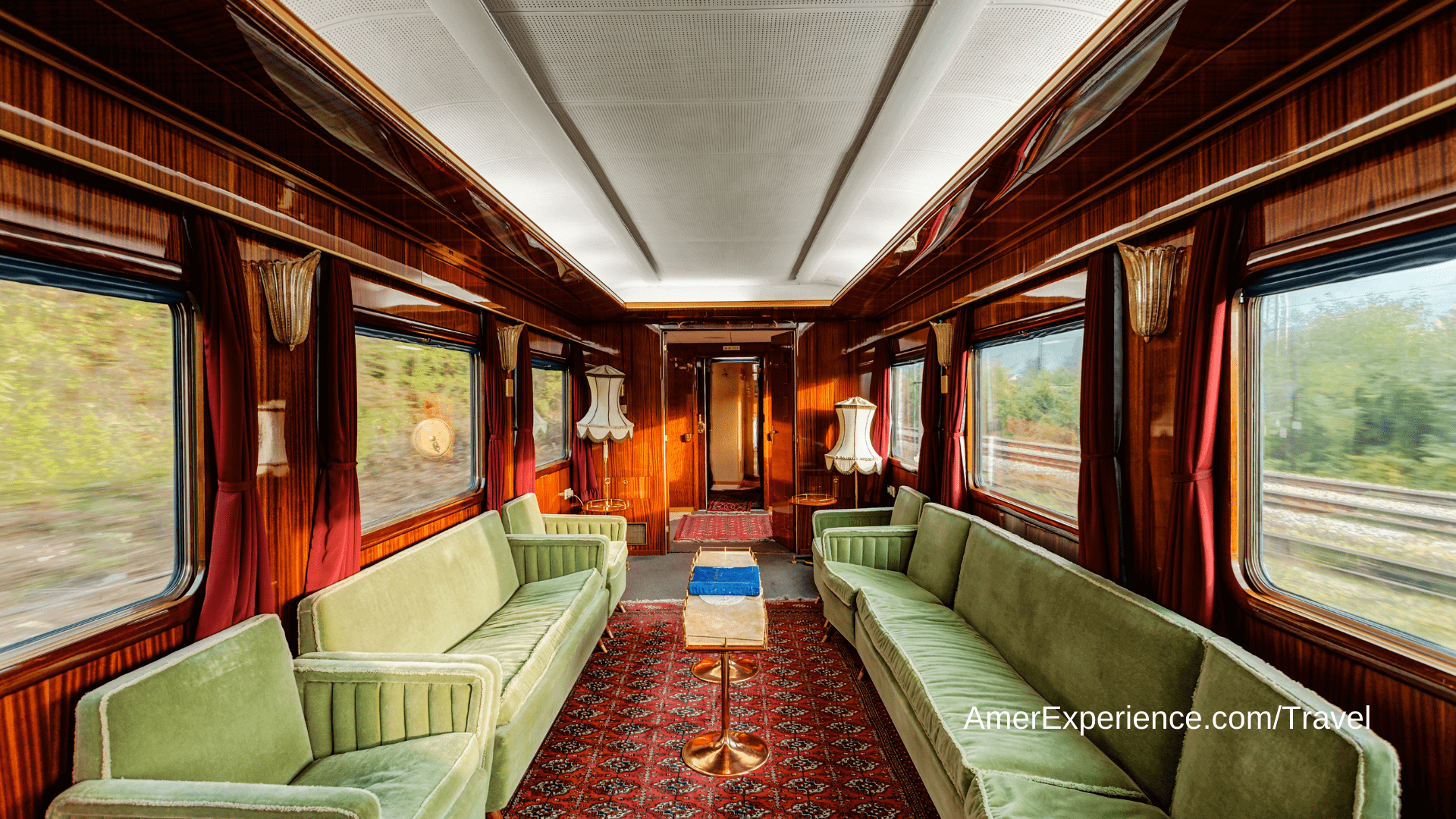 Luxury train journeys: Discover the world in a new light on a voyage through spectacular scenery
