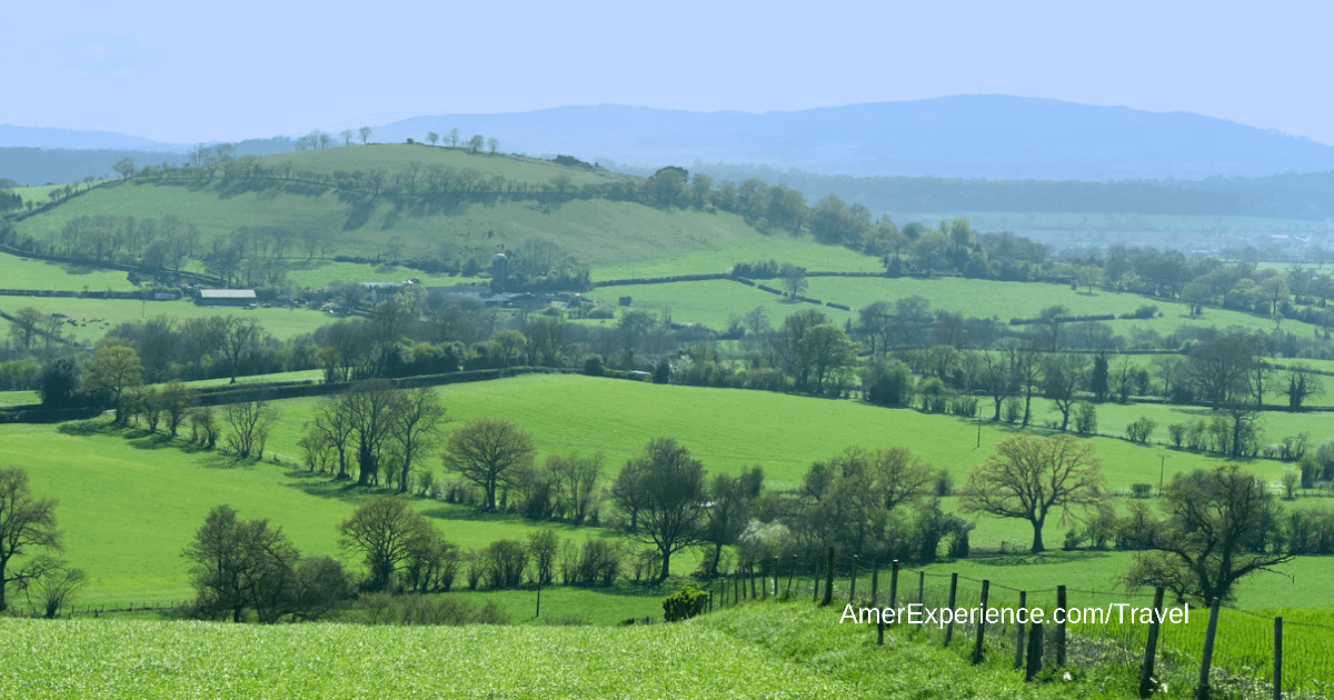 Thrills in the hills:You don't need to be a mountaineer to enjoy Shropshire's gentle hikes