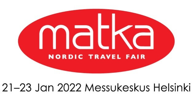 Matka Nordic Travel Fair will be organized at Messukeskus Helsinki, Expo and Convention Centreon 20-23 January 2022